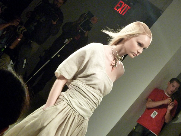 Matthew Ames Milk Studios Michelle Christina Larsen NYFW New York Fashion Week Spring 2011