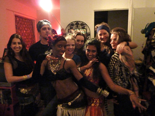 tchaikovsky darling michelle christina mehanata ice cage hip scarf coin dj mishka birthday 2010 october belly dance bastet falucka new york city