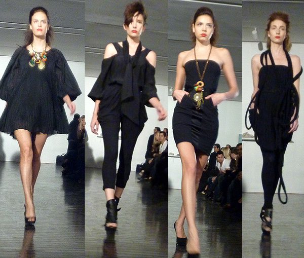 sally wu act 1 spring 2011 fashion show runway arario gallery new york tchaikovsky darling michelle christina