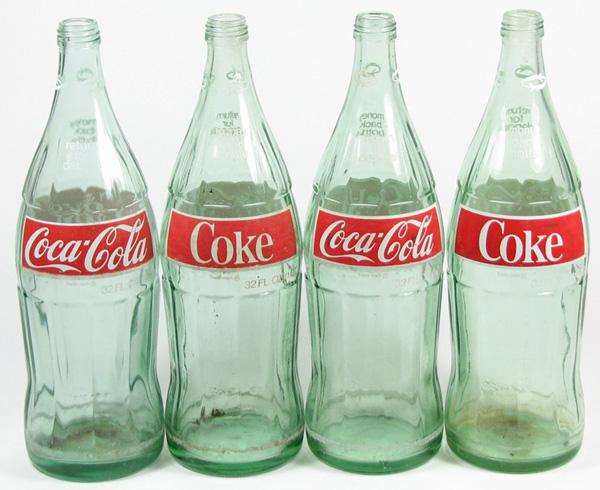 vintage coke bottles american