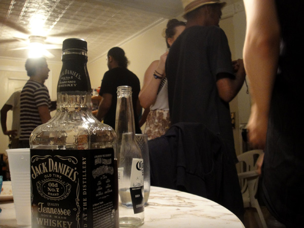 hurricane irene storm party nyc brooklyn photos