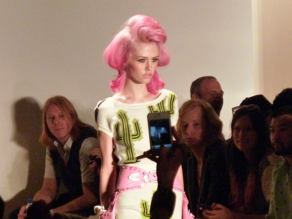 jeremy scott spring 2012 milk studios runway photos charlotte free