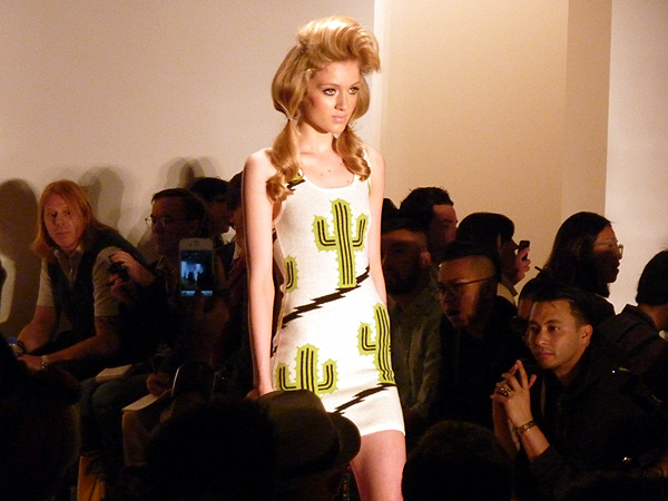 jeremy scott spring 2012 milk studios runway photos