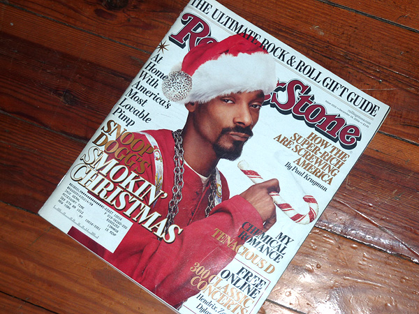 rolling stone snoop dog christmas