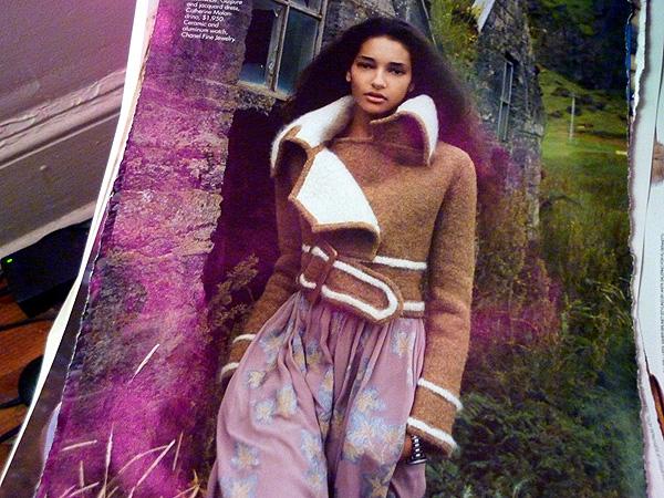 fall fashion shearling jacket