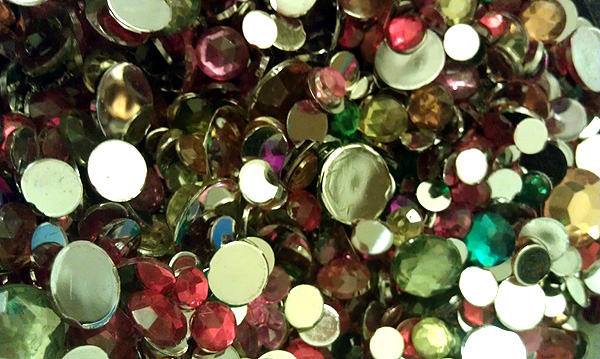 rhinestones jewels flat back gems