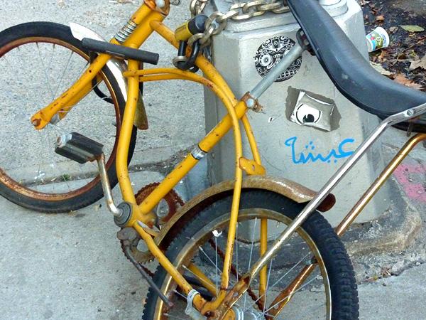 brooklyn photos hey mishka yellow bike
