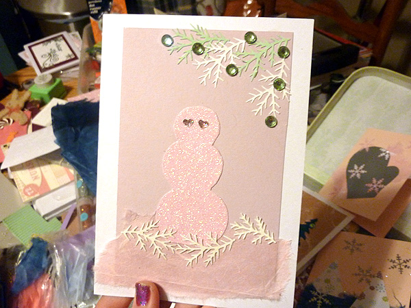 greenpointers craft fair holiday christmas cards handmade 5