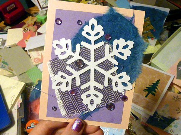 greenpointers craft fair holiday christmas cards handmade 3