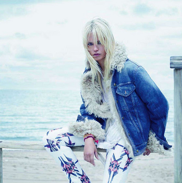 Vogue Paris Sasha Pivovarova Natasha Poly