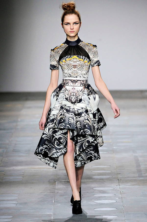 Mary Katrantzou LFW Fall 2012
