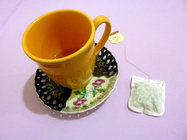 diy make your own tea bags