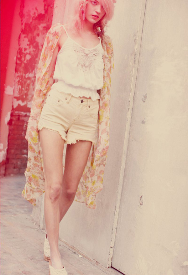 summer pastels free people lookbook boho