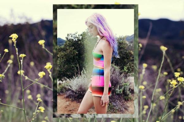 pink pastel purple hair