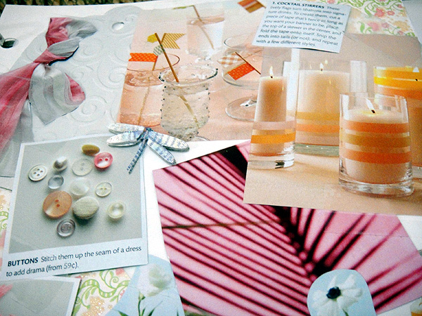 diy scrapbook party events wedding