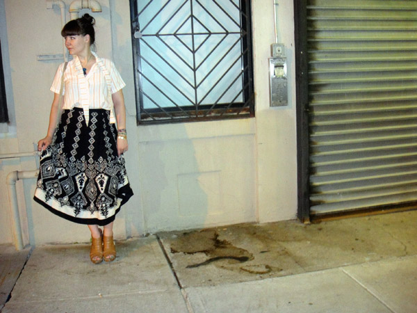 BOHO SKIRT brooklyn summer