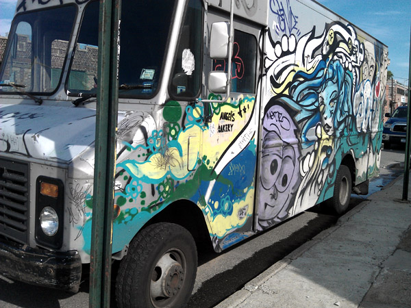 graffiti truck brookyln