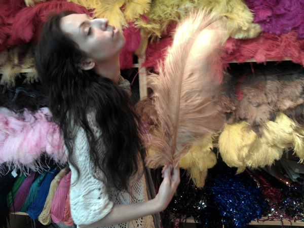 feathers garment district