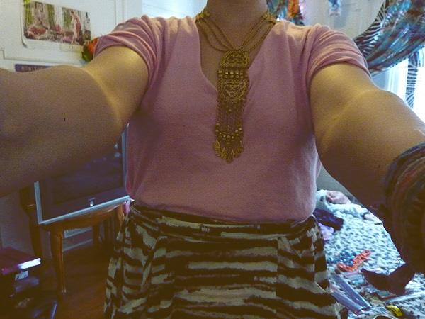 gold indian necklace boho