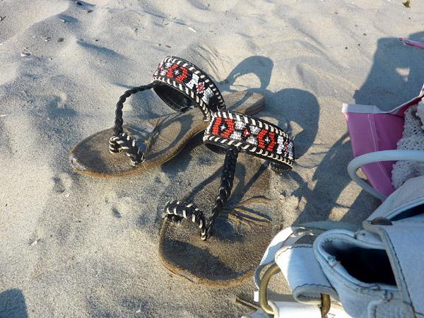 boho sandals shoes beach