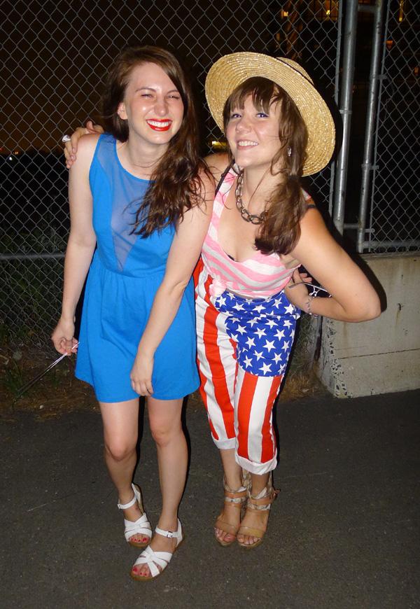 july 4th american flag pants