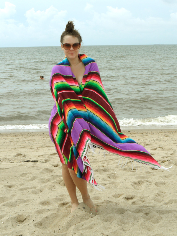 mexican blanket boho beach