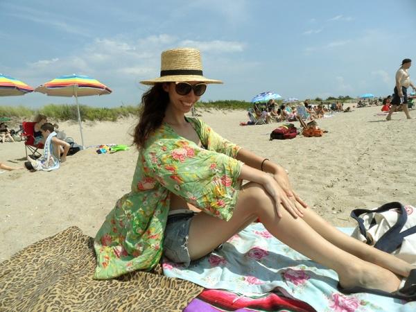 boho beach babe zooey