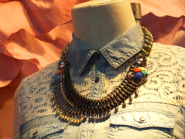 bohemian necklace anthropologie