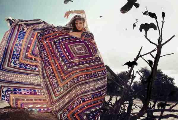 Mara Hoffman fall 2012 campaign shaman gauchos