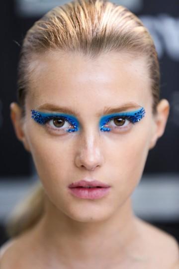 Dior S/S 2013 maquiagem de desfile