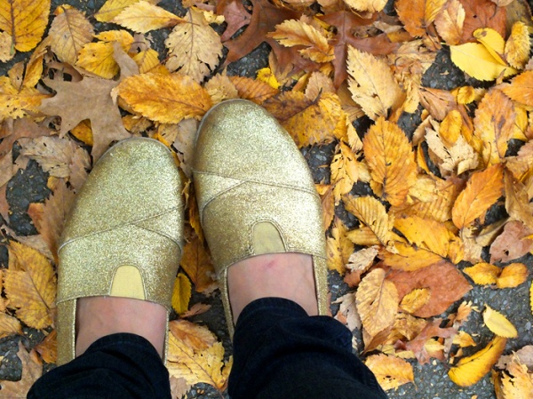 gold glitter shoes flats fall