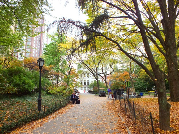 nyc central park fall autumn