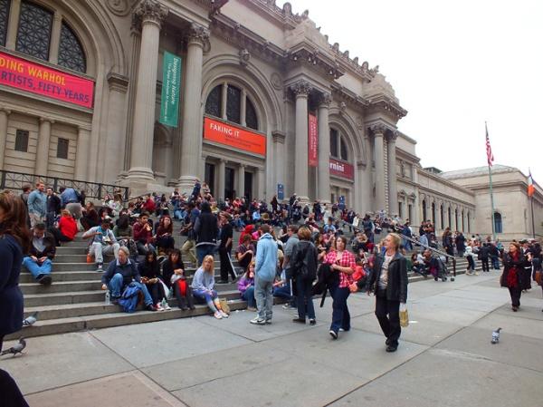 nyc met museum steps