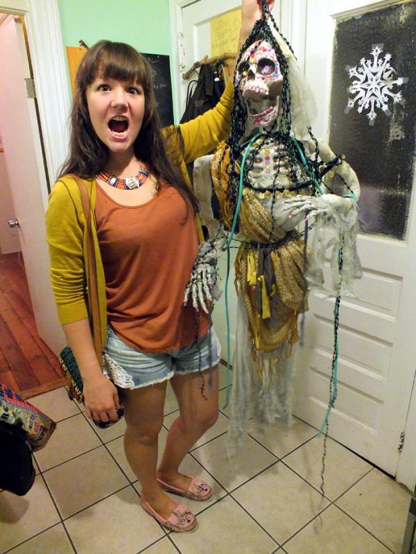 dia de los muertos halloween scary