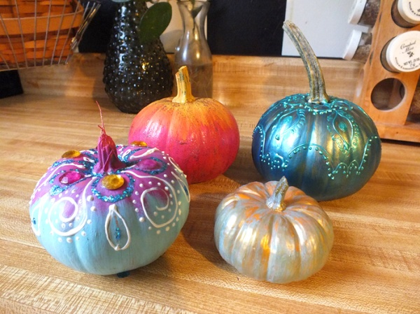 pumpkin painting diy halloween