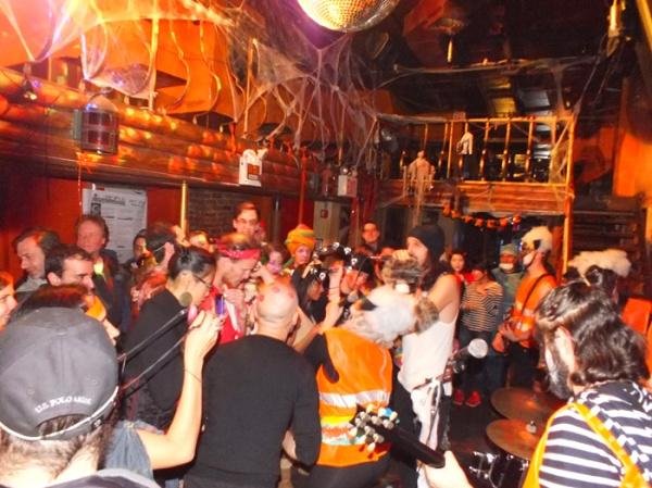 mehanata halloween 2012 bulgarian bar