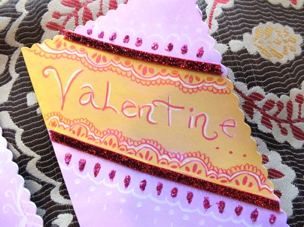 D.I.Y. Handmade Henna x Origami Inspired Valentine's Day Cards (4)