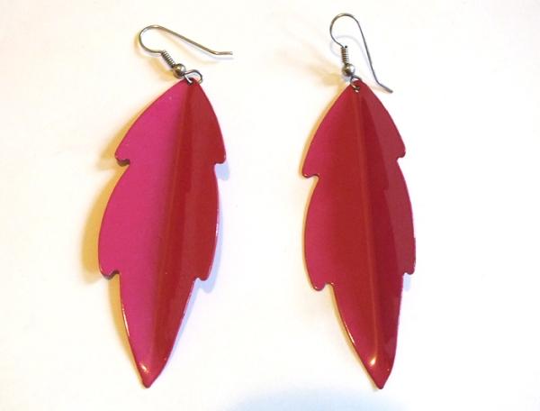 pink vintage earrings tutorial diy