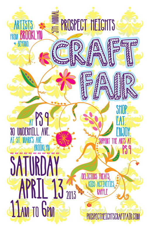 PS9 craft fair prospect heights brooklyn