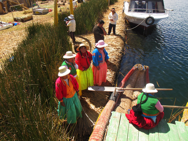 islands of Uros in Peru