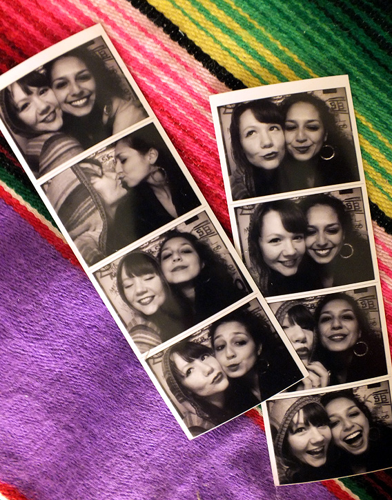 photo booth serape vintage brooklyn
