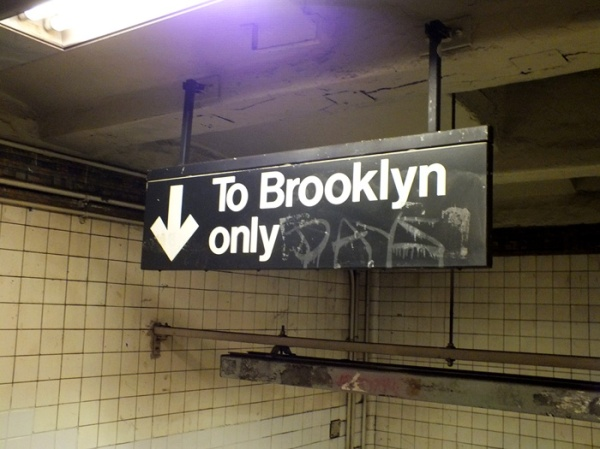 to brooklyn only nyc subway