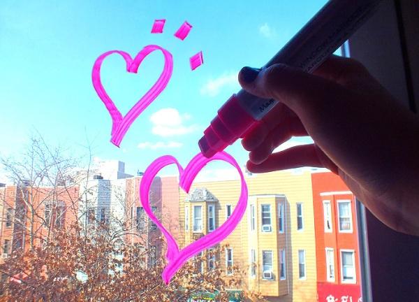 valentine's day DIY nyfw