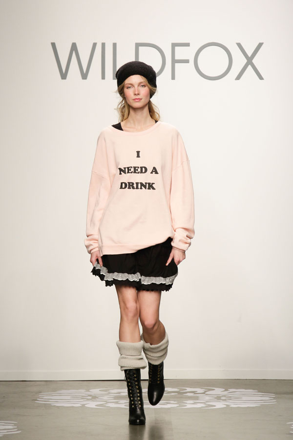 wildfox couture fw14 nyfw
