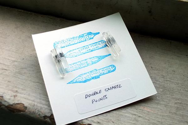 quartz earrings little otto shop