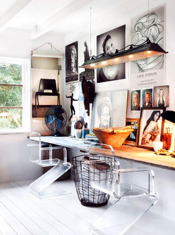 minimalist boho interior